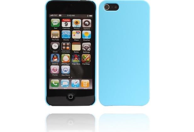 Twins Shield Matte für iPhone 5/5S/SE, hellblau
