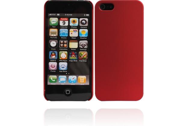 Twins Shield Matte für iPhone 5/5S/SE, rot