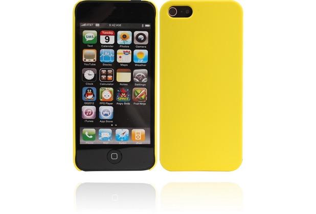 Twins Shield Matte für iPhone 5/5S/SE, gelb