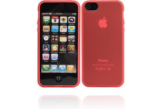 Twins Bright Matte für iPhone 5/5S/SE, rot
