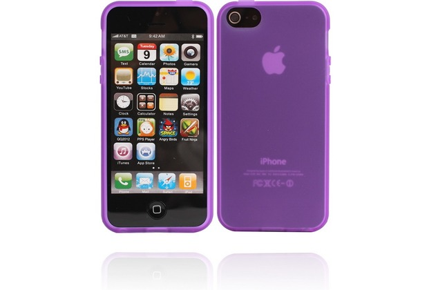 Twins Bright Matte für iPhone 5/5S/SE, lila