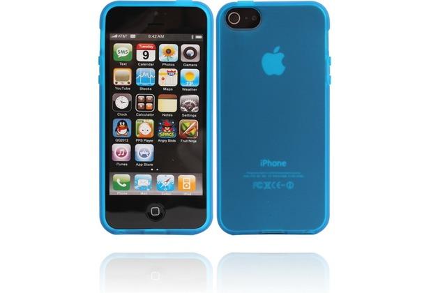 Twins Bright Matte für iPhone 5/5S/SE, blau