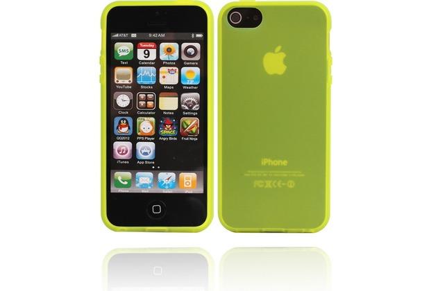 Twins Bright Matte für iPhone 5/5S/SE, gelb