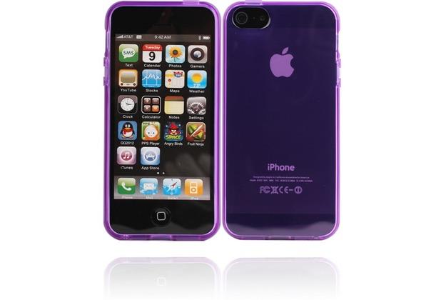 Twins Bright für iPhone 5/5S/SE, lila-transparent