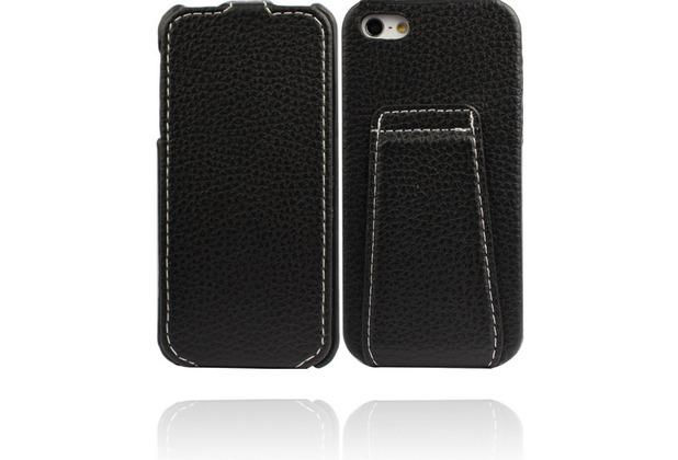 Twins Flip Stand für iPhone 5/5S/SE, schwarz