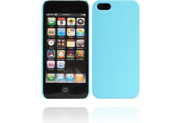 Twins Shield Mesh für iPhone 5/5S/SE, hellblau
