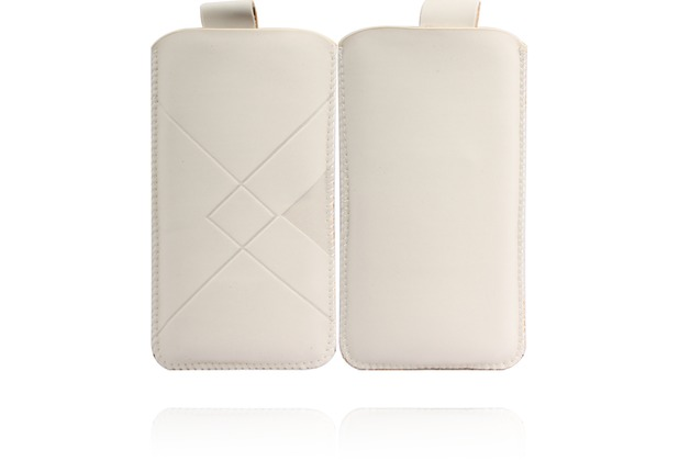Twins Pouch für iPhone 5/5S/SE, weiß