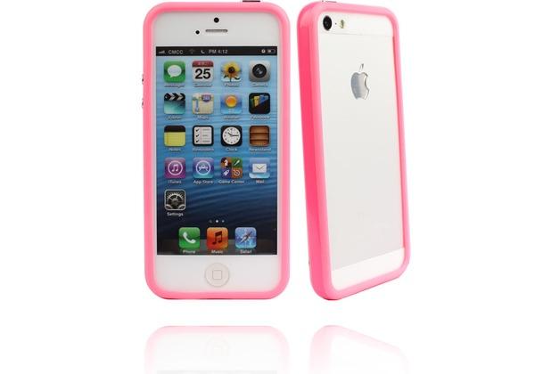 Twins Color Bumper für iPhone 5/5S/SE, pink