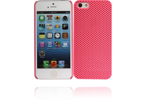 Twins Perforated für iPhone 5/5S/SE, rosa