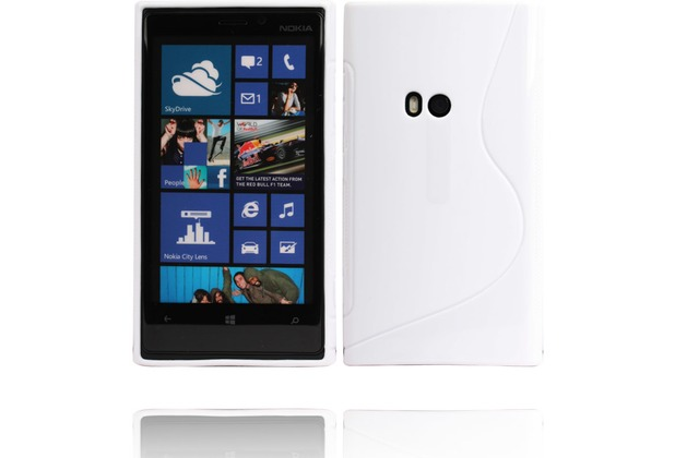 Twins Fancy Bright für Nokia Lumia 920, weiß