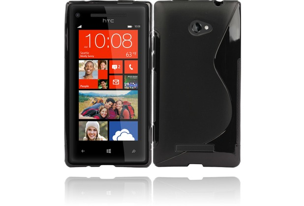 Twins Fancy Bright für HTC Windows Phone 8X, schwarz