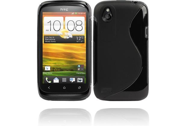 Twins Fancy Bright für HTC Desire X, schwarz