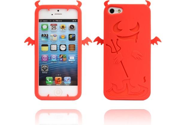 Twins Devil 2 für iPhone 5/5S/SE, rot