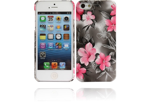 Twins Lily für iPhone 5/5S/SE, grau
