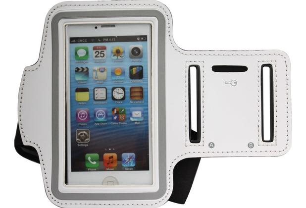 Twins Sportive Strap für iPhone 5/5S/SE, weiß