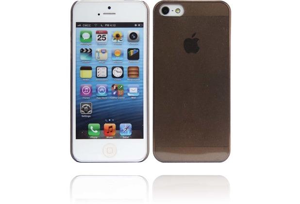 Twins Micro Glitz für iPhone 5/5S/SE, schwarz