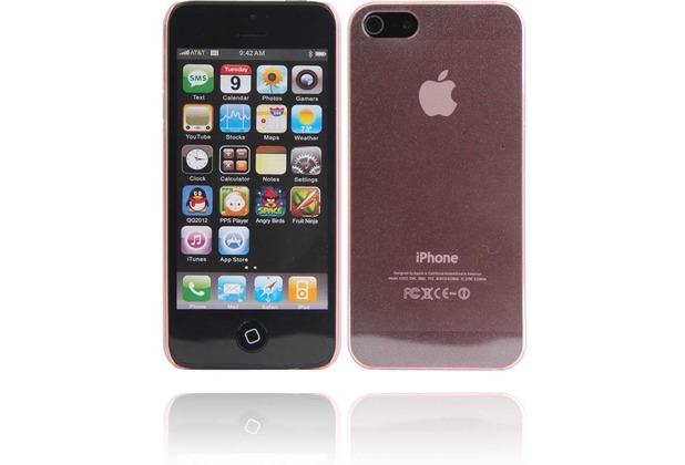 Twins Micro Glitz für iPhone 5/5S/SE, pink