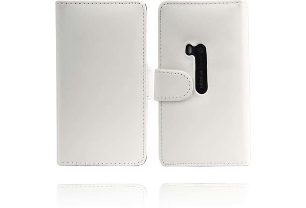 Twins BookFlip für Nokia Lumia 920, weiß