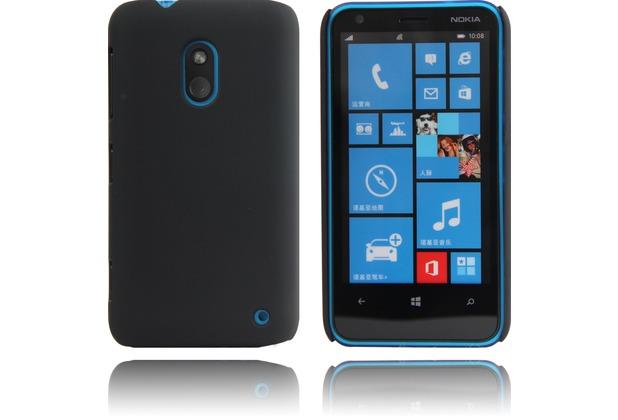 Twins Shield Matte für Nokia lumia 620, schwarz
