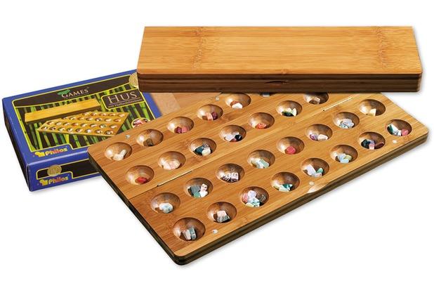 Philos-Spiele Hus aus Bambus