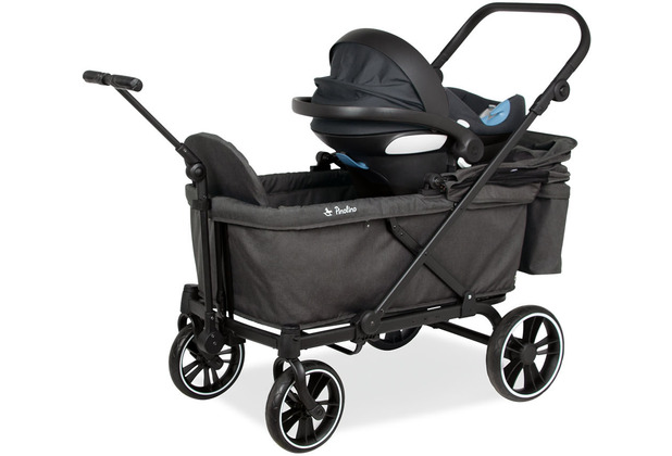 Pinolino Babyschalen-Adapter für Klappbollerwagen \'Cruiser\', 2-tlg.