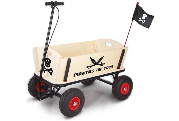 Pinolino Bollerwagen \'Pirat Jack\' mit Bremse