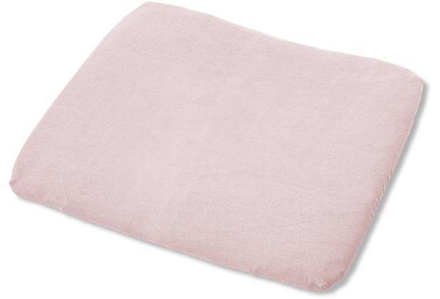 Pinolino Bezug für Wickelauflagen, Frottee, rosa