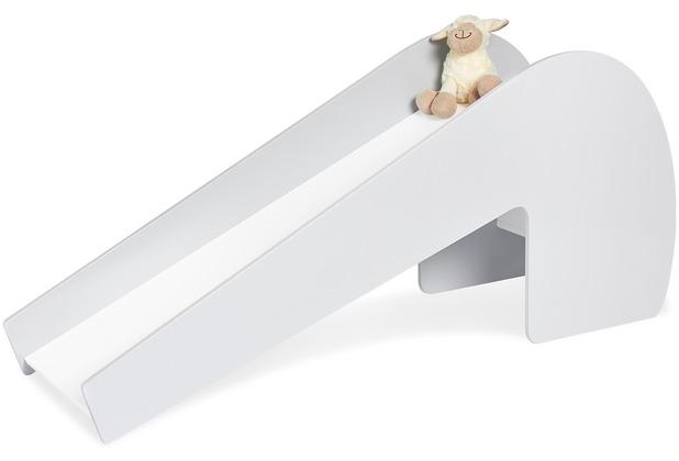 Pinolino Indoor-Rutsche \'Lotta\', grau/weiß