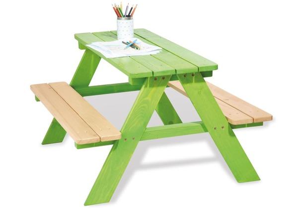 Pinolino Kindersitzgarnitur \'Nicki für 4\', grün