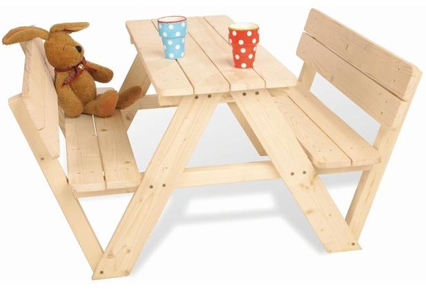 Pinolino Kindersitzgarnitur \'Nicki für 4 mit Lehne\'