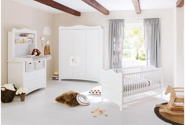 Pinolino Kinderzimmer \'Florentina\' breit groß, inkl. breitem Regalaufsatz