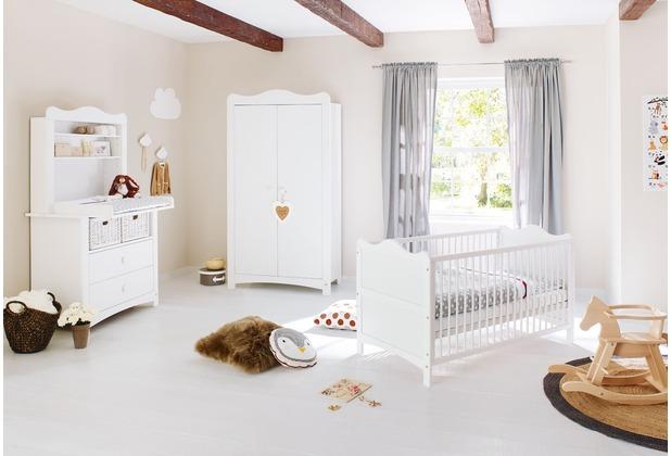 Pinolino Kinderzimmer \'Florentina\' breit, inkl. Regalaufsatz