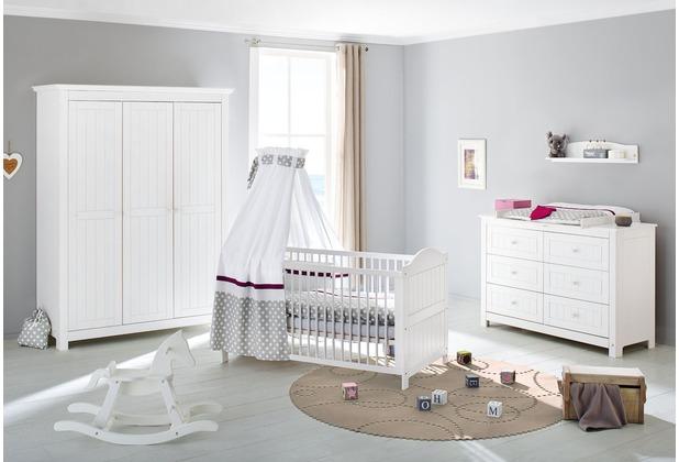 Pinolino Kinderzimmer \'Nina\' extrabreit groß mit 3 Türen