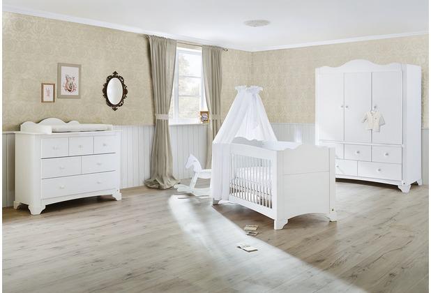 Pinolino Kinderzimmer \'Pino\' breit groß mit 3 Türen