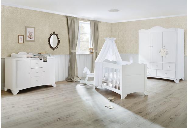 Pinolino Kinderzimmer \'Pino\' extrabreit groß mit 3 Türen