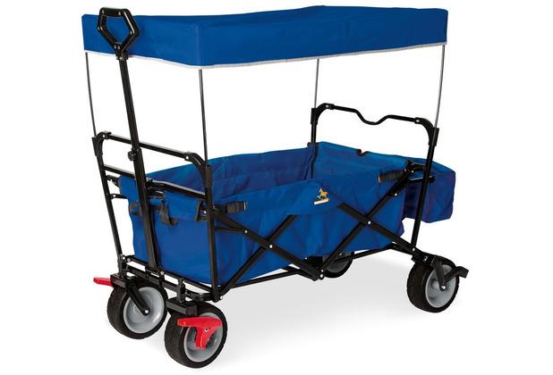 Pinolino Klappbollerwagen \'Paxi dlx\' mit Bremse, blau