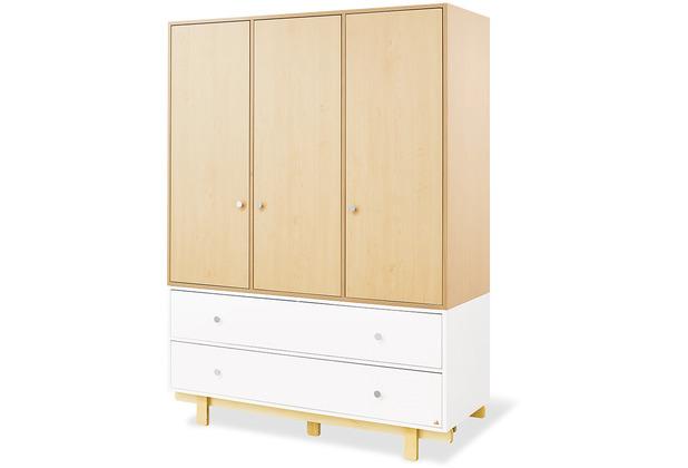 Pinolino Kleiderschrank \'Boks\' groß mit 3 Türen
