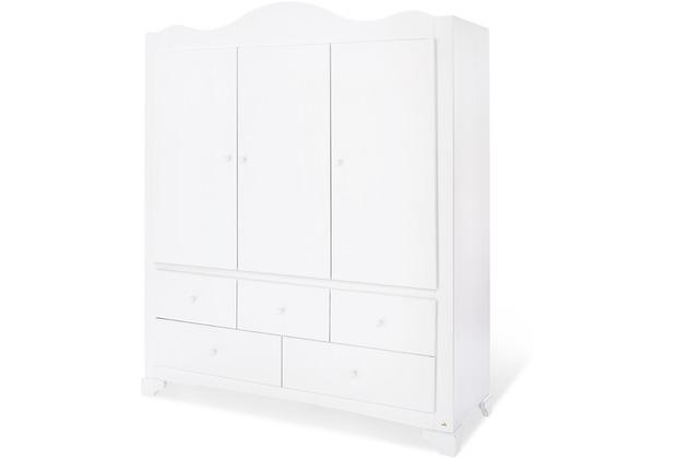 Pinolino Kleiderschrank \'Pino\' groß mit 3 Türen