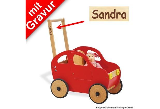 Pinolino Lauflernwagen 'Auto Jonas' MIT GRAVUR (z.B. Namen)