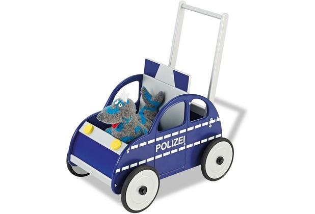 Pinolino Lauflernwagen \'Polizeiauto René\'