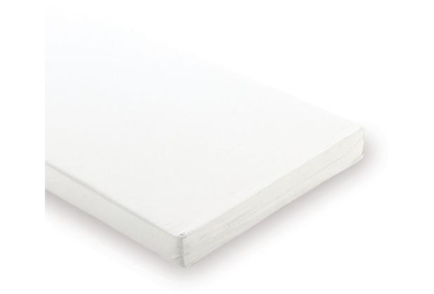 Pinolino Matratze für Wiegen und Anstellbettchen \'Schaumkern\' groß, 90 x 55 cm