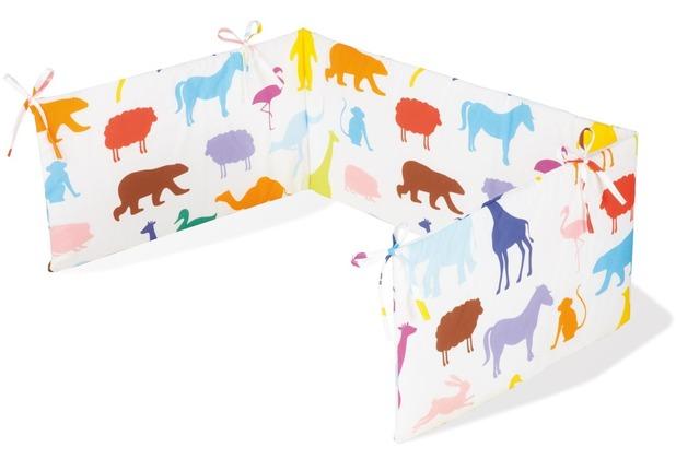 Pinolino Nestchen für Kinderbetten \'Happy Zoo\'