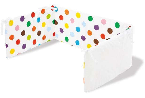 Pinolino Nestchen für Kinderbetten \'Dots\'
