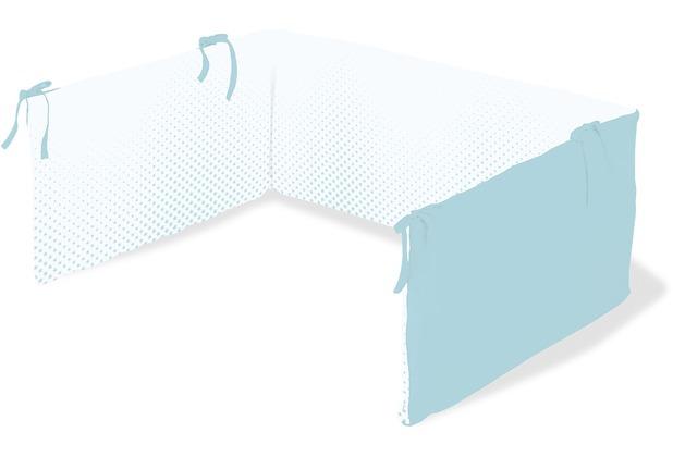 Pinolino Nestchen für Kinderbetten \'Running Stars\', hellblau