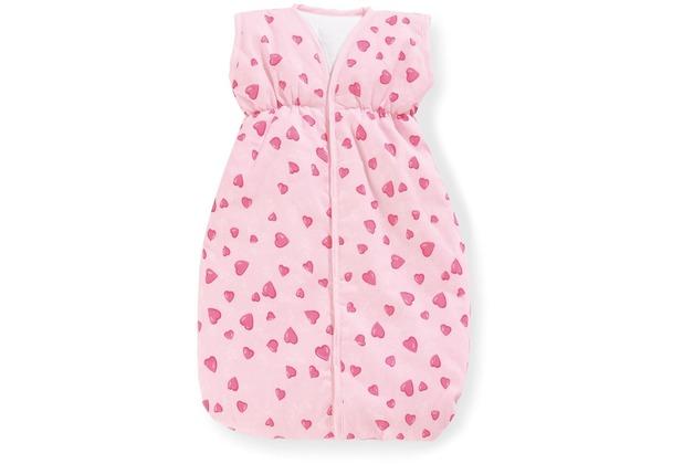 Pinolino Puppenschlafsack \'Herzchen\', rosa