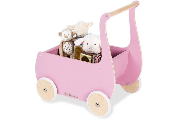 Pinolino Puppenwagen \'Mette\', rosa