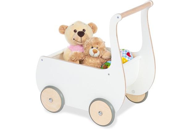 Pinolino Puppenwagen \'Mette\', weiß