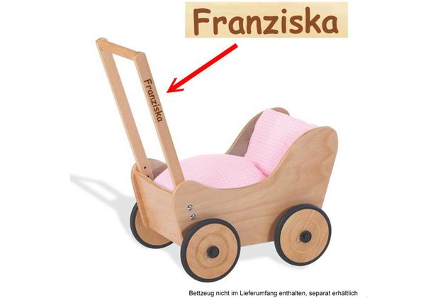 Pinolino Puppenwagen 'Sarah' MIT GRAVUR (z.B. Name)