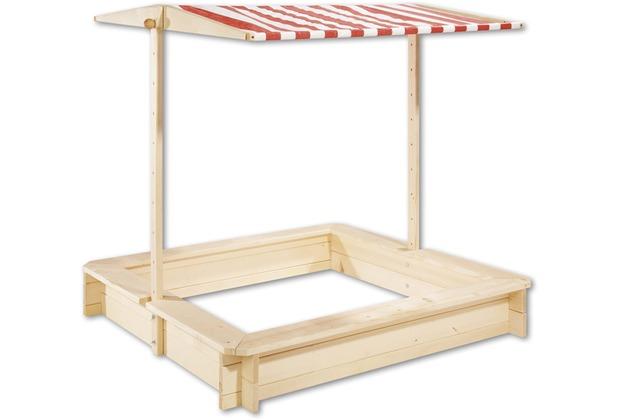 Pinolino Sandkasten \'Leonie\', 120 x 120 cm