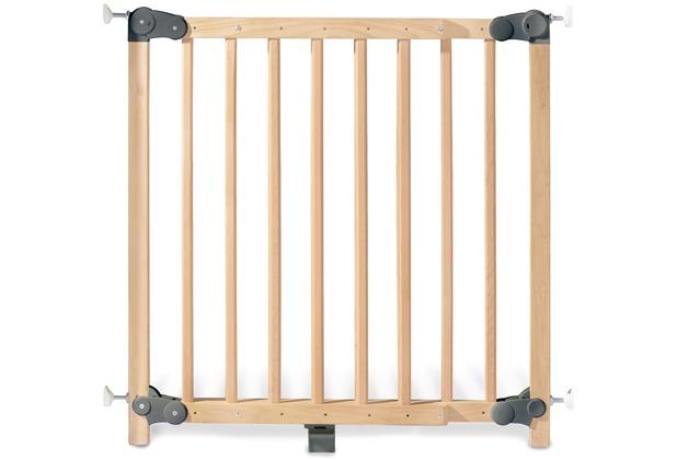 Pinolino Tür- und Treppenschutzgitter \'Baby Lock Premium\', Buche klar lackiert